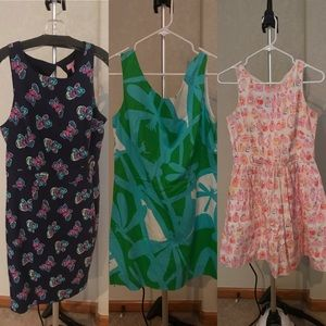 Lilly Pulitzer Dresses - Lot of 3 Lilly Pulitzer dresses Size 8